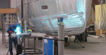 A Boreal-44 takes shape
