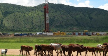 Drilling in the Albertine Rift, Uganda